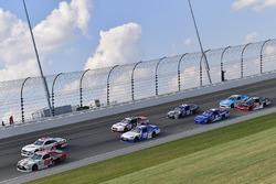 Erik Jones, Joe Gibbs Racing Toyota, Cole Custer, Stewart-Haas Racing Ford, Daniel Suárez, Joe Gibbs Racing Toyota, Ryan Blaney, Team Penske Ford
