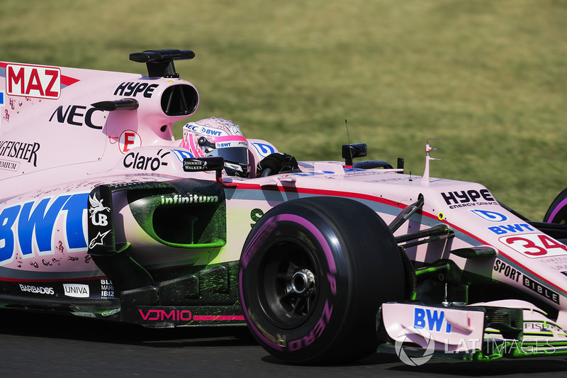 Nikita Mazepin, Sahara Force India F1 VJM10