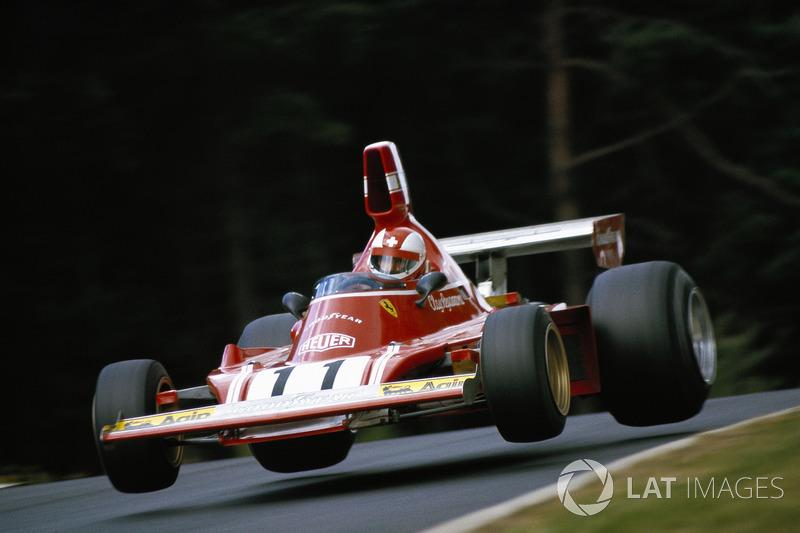 1974 - Clay Regazzoni, Ferrari