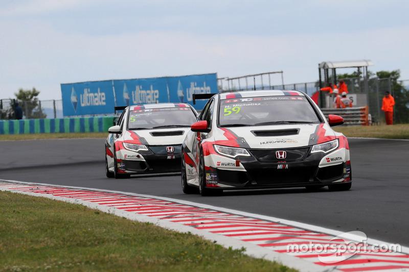 Norbert Michelisz, M1RA, Honda Civic TCR