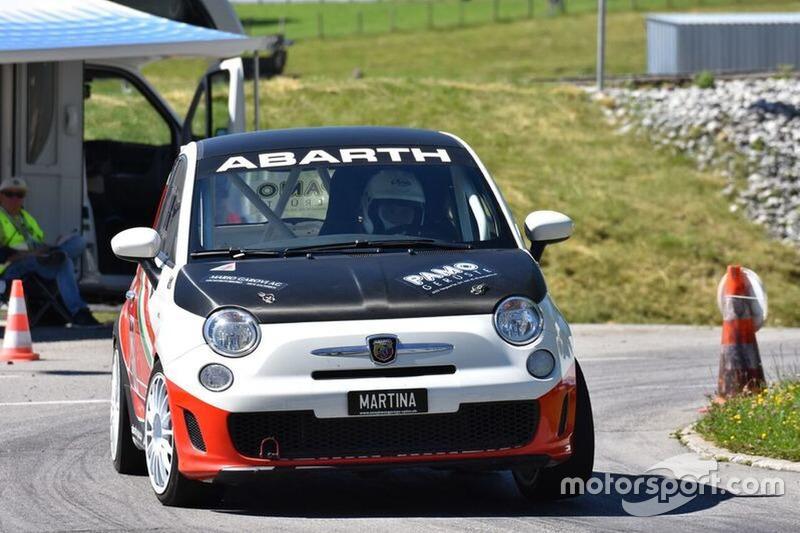 Martina GarovI, Abarth 695 assetto corse, Equipe Bernoise.jpg