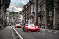 #888 Kessel Racing Ferrari 488 GT3: Jacques Duyver, Marco Zanuttini, David Perel, Niki Cadei
