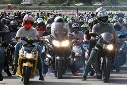 Aficionados a las motocicletas