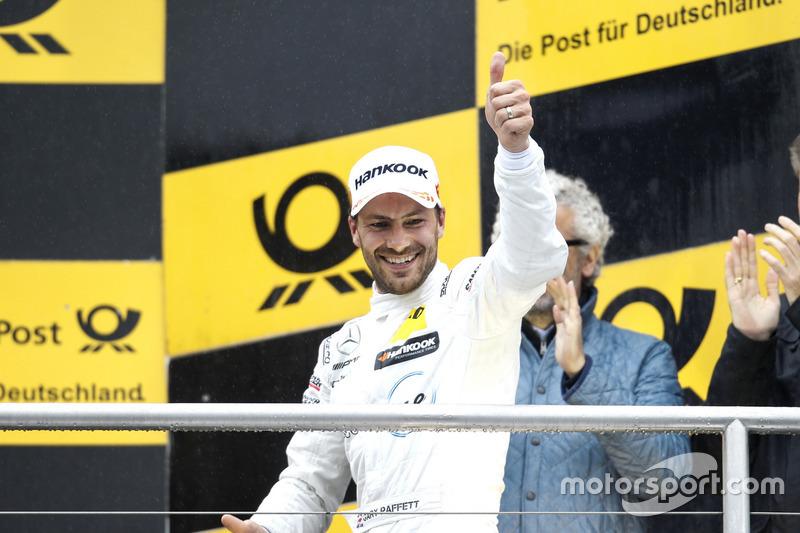 Podium: second place Gary Paffett Mercedes-AMG Team HWA, Mercedes-AMG C63 DTM