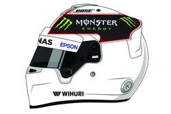 汉密尔顿全新头盔涂装设计