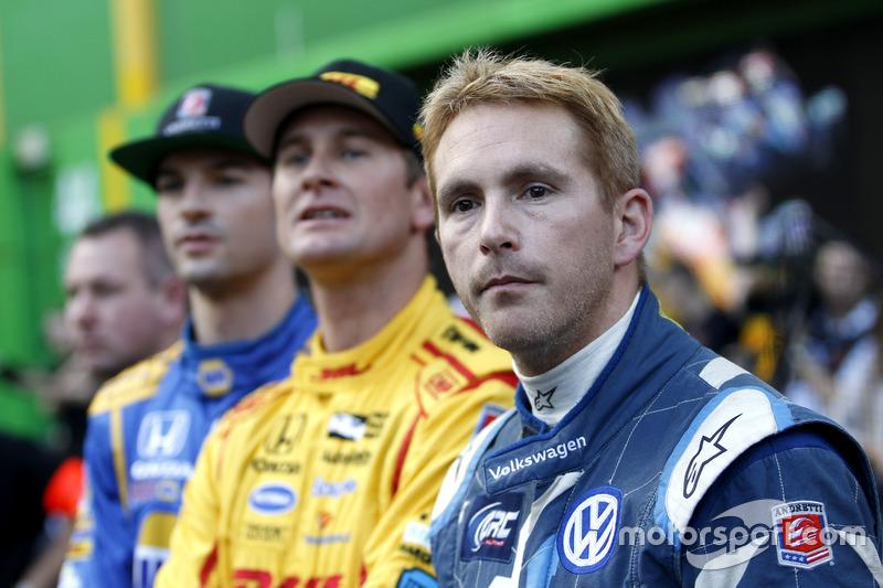 Scott Speed, Ryan Hunter-Reay, Alexander Rossi