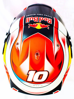 Helm von Pierre Gasly, Scuderia Toro Rosso