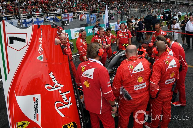 5. Кімі Райкконен, Ferrari SF70-H - 138