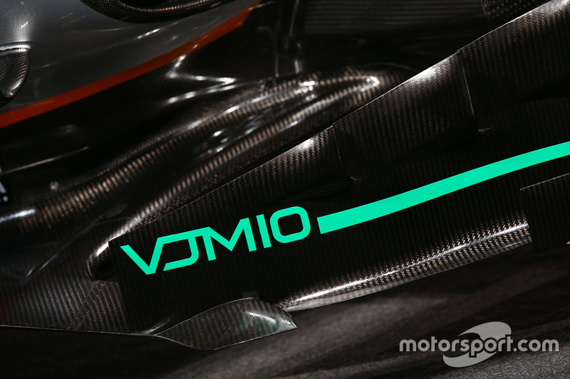 Force India F1 VJM10: Windabweiser