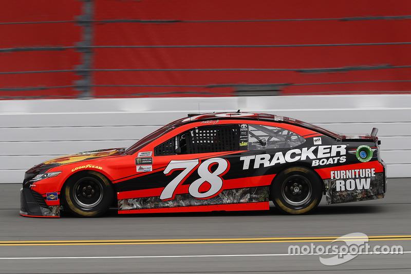 Martin Truex Jr Furniture Row Racing Toyota At Daytona 500