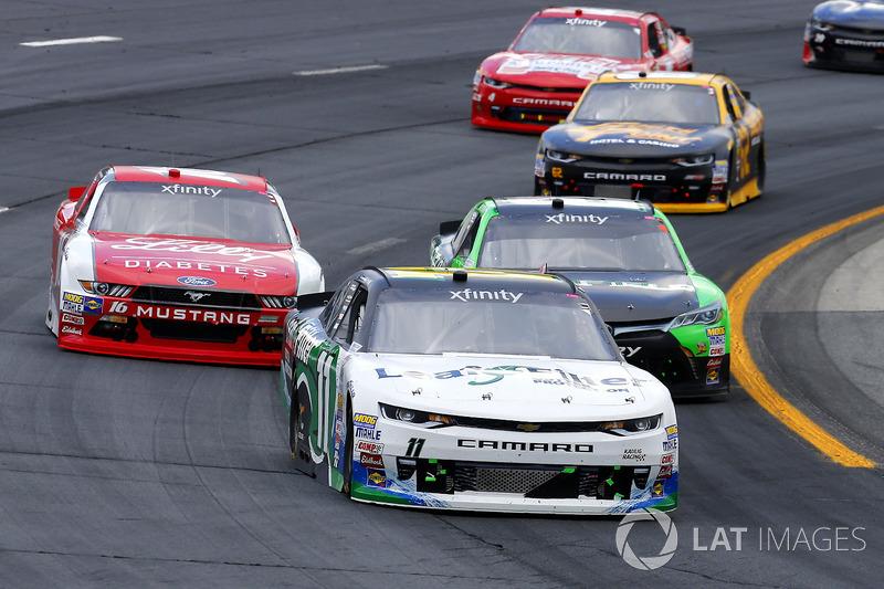 Blake Koch, Kaulig Racing Chevrolet, Dakoda Armstrong, JGL Racing Toyota, Ryan Reed, Roush Fenway Ra