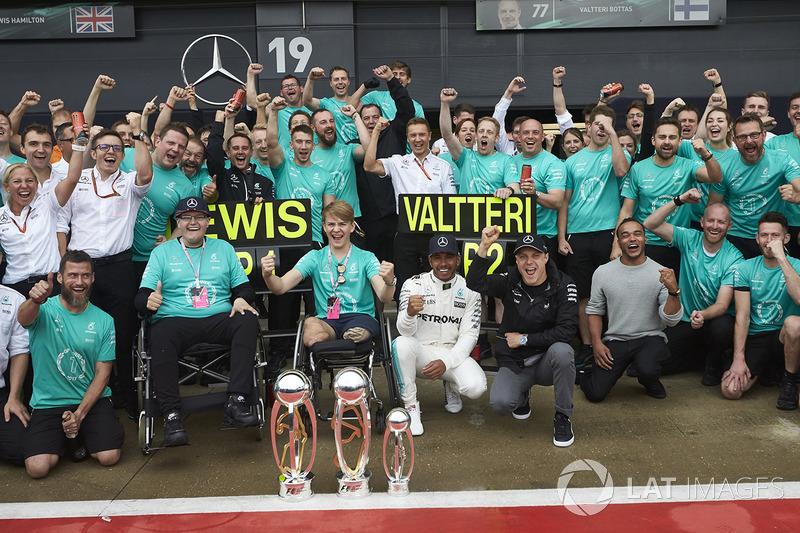 Льюіс Хемілтон, Валттері Боттас, Mercedes AMG F1, Біллі Монгер