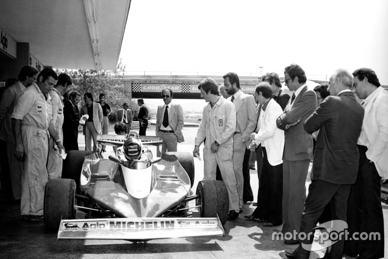 Ferrari 312 T3 test