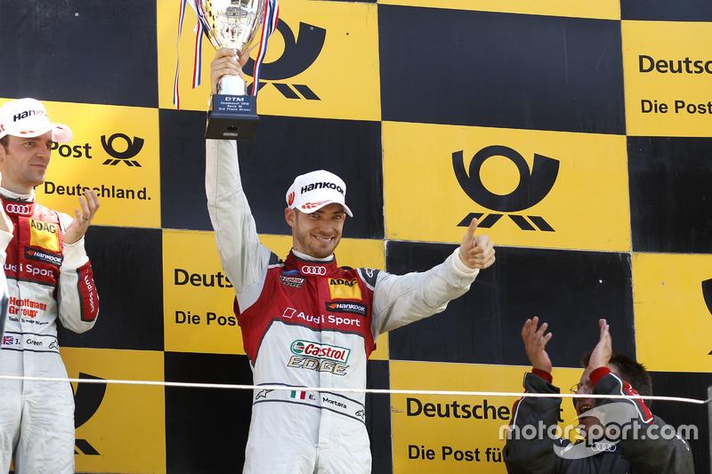 Gewinner und Verlierer zugleich: Edoardo Mortara (Audi)