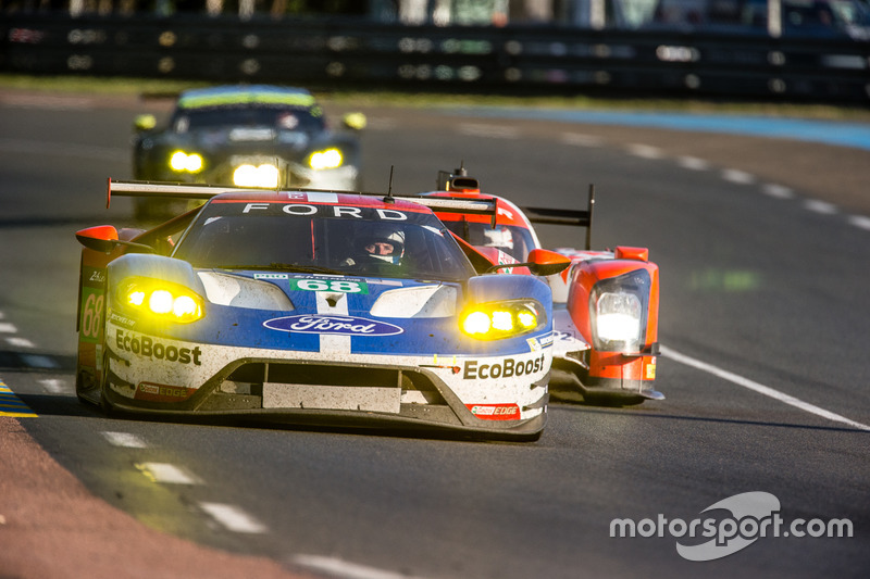 18th: (GTE PRO WINNER) #68 Ford Chip Ganassi Racing Ford GT: Joey Hand, Dirk Müller, Sébastien Bourdais
