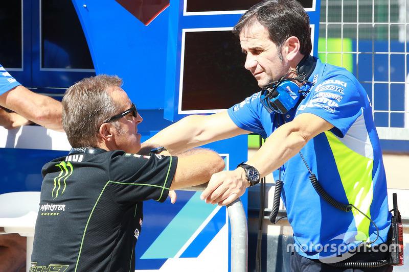 Hervé Poncharal, Monster Yamaha Tech 3 Team Principal, Brivio