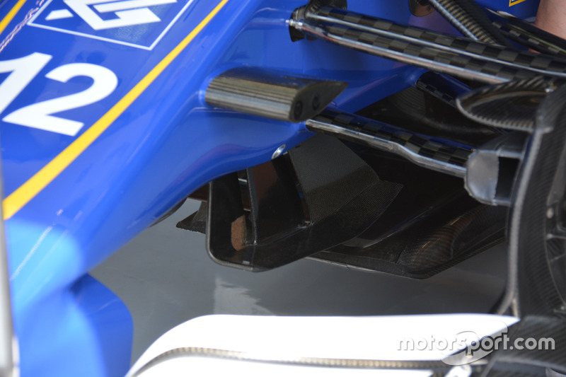 Detail, Sauber C38