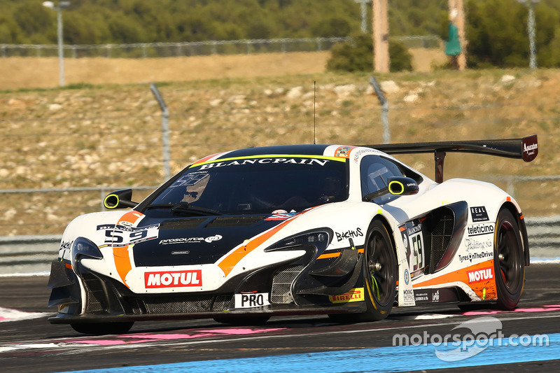 #59 Garage 59 McLaren 650S GT3: Andrew Watson, Alex Fontana