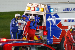 Crash de Joey Logano, Team Penske Ford