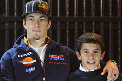 Nicky Hayden and Marc Marquez, Repsol