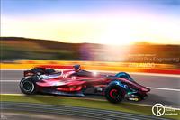 Alfa Romeo F1 Fantezi Konsept Tasarım