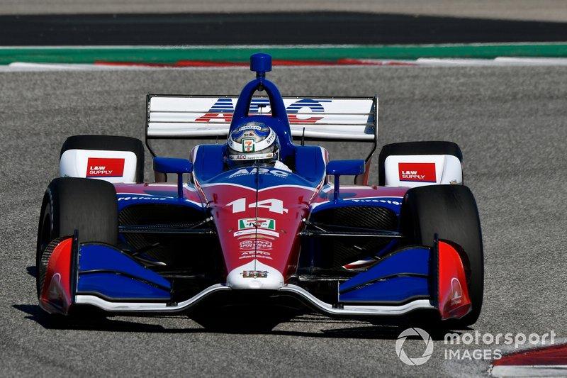 #14: Tony Kanaan, A.J. Foyt Racing, Chevrolet