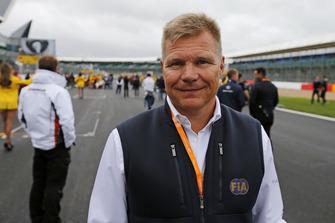 Mika Salo, FIA steward and former Formula 1 driver