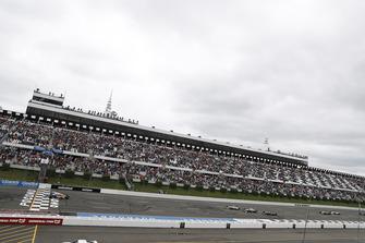 Restart: Alexander Rossi, Andretti Autosport Honda, führt