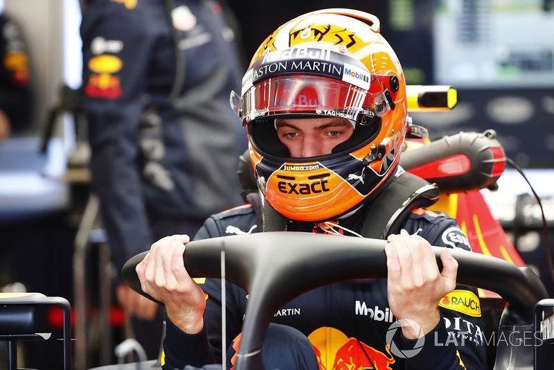GP Belgia - Max Verstappen