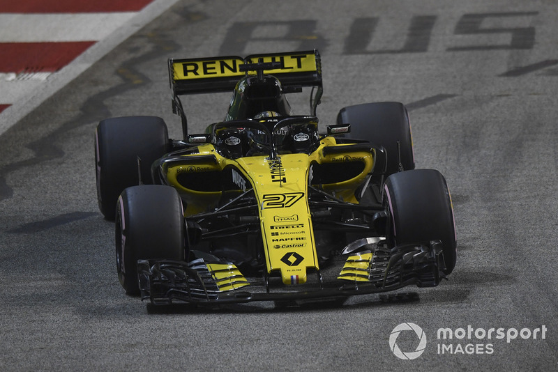 9 місце — Ніко Хюлькенберг, Renault. Умовний бал — 10,76