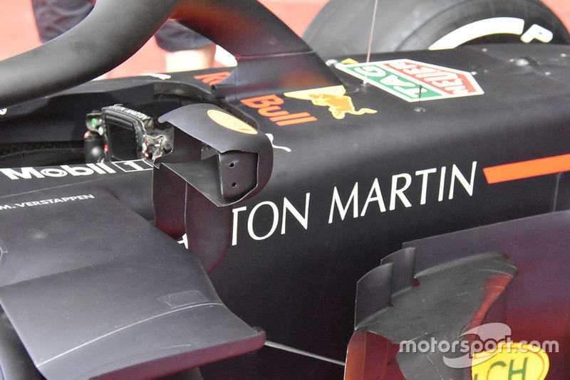 Зеркало заднего вида Red Bull RB14