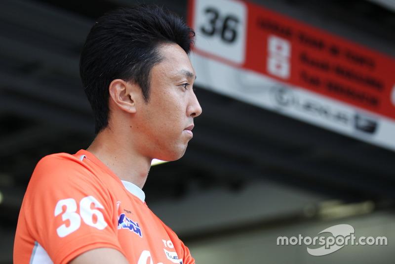 Kazuki Nakajima(#36 au TOM'S LC500)
