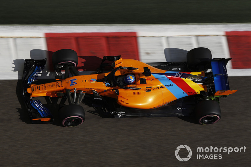 alonso could test 2019 mclaren f1 car