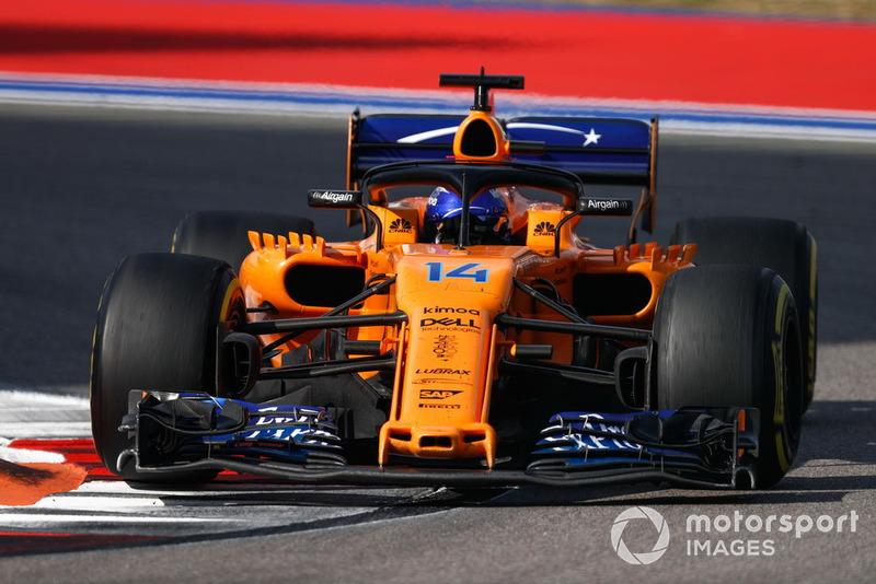 Fernando Alonso: McLaren - 7 puan