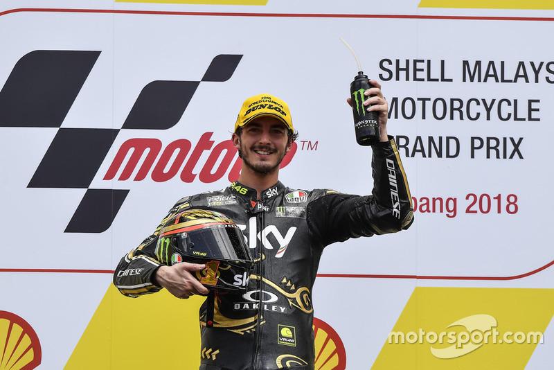 Moto2: Франческо Баньяя