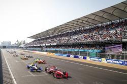 Jérôme d'Ambrosio, Dragon Racing leads