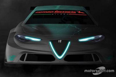Presentazione Alfa Romeo Giulia ETCR