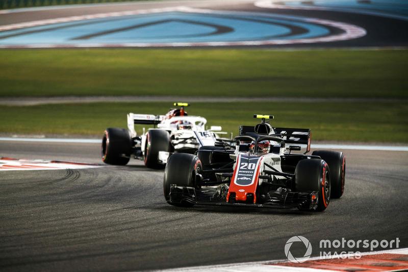 Кевін Магнуссен, Haas F1 Team VF-18, Шарль Леклер, Sauber C37