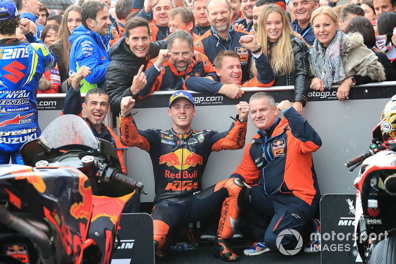 Il terzo classificato Pol Espargaro, Red Bull KTM Factory Racing