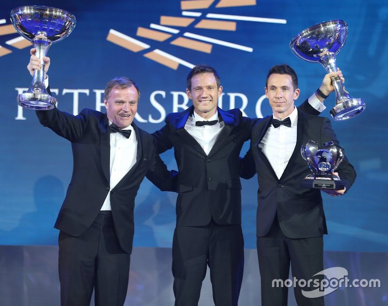 Campeonato del Mundo de Rallyes de la FIA: Sébastien Ogier (piloto), Julien Ingrassia (copiloto) y Toyota Gazoo Racing WRT Toyota (equipo)