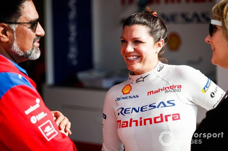 Кетрін Лег, Mahindra Racing