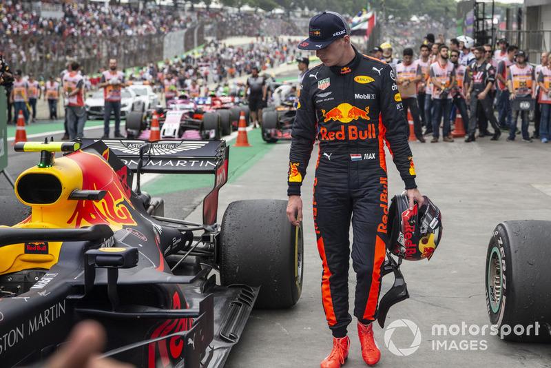 Max Verstappen, Red Bull Racing en Parc Ferme
