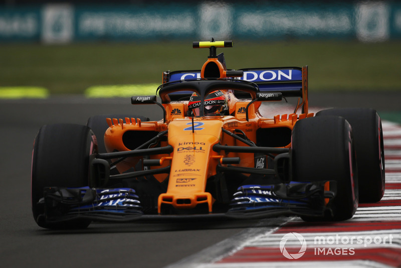 8. Stoffel Vandoorne, McLaren MCL33