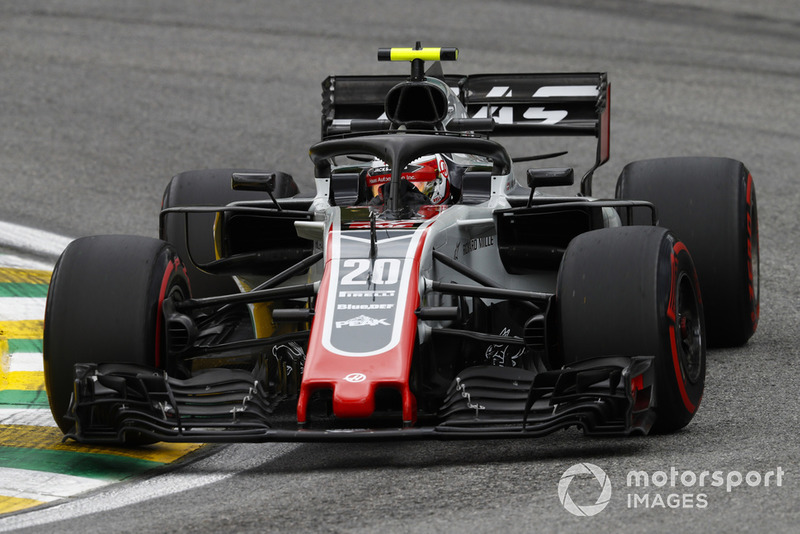 10: Kevin Magnussen, Haas F1 Team VF-18: 1:08.659