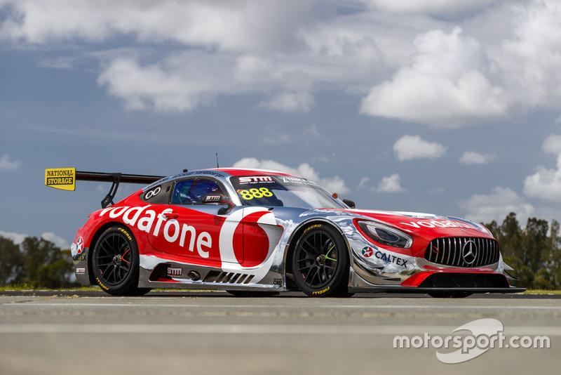 Triple Eight, Scott Taylor Motorsport and Vodafone team up to field legendary Bathurst 12 Hour entry