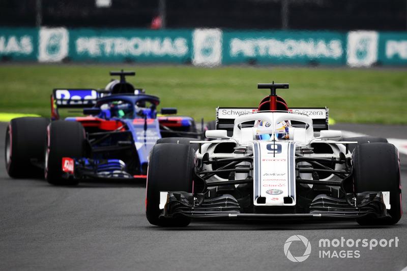 Sauber vs. Toro Rosso