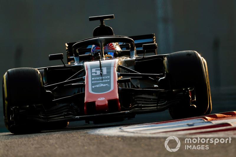 П'єтро Фіттіпальді, Haas F1 Team VF-18