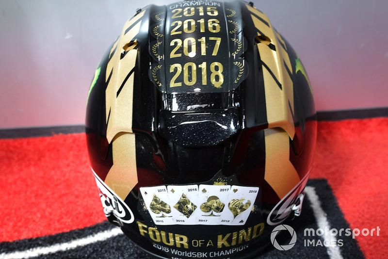 Casco de Jonathan Rea, Kawasaki Racing