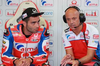 Danilo Petrucci, Pramac Racing, mit Daniele Romagnoli