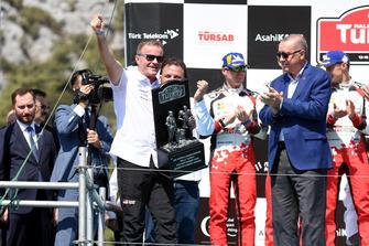 Tommi Makinen, Toyota Gazoo Racing Team Manager, Recep Tayyip Erdoğan, President of Turkey